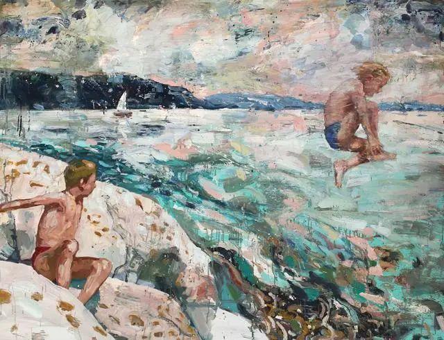 他既是画家又是作家,挪威托尔·阿恩·摩恩插图41