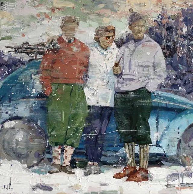 他既是画家又是作家,挪威托尔·阿恩·摩恩插图45