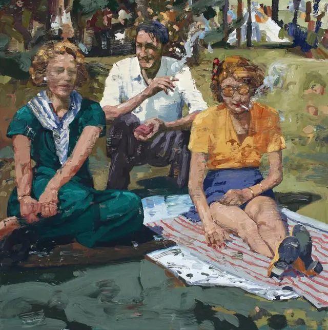 他既是画家又是作家,挪威托尔·阿恩·摩恩插图53
