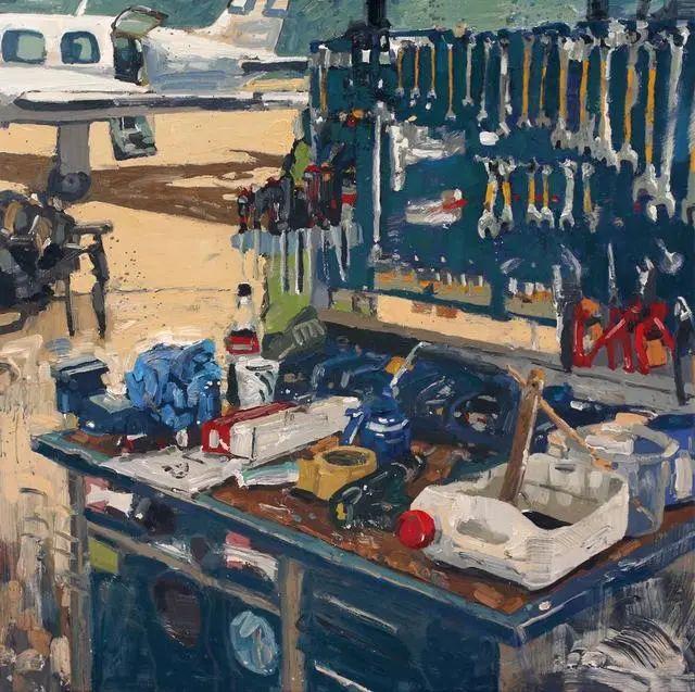 他既是画家又是作家,挪威托尔·阿恩·摩恩插图55