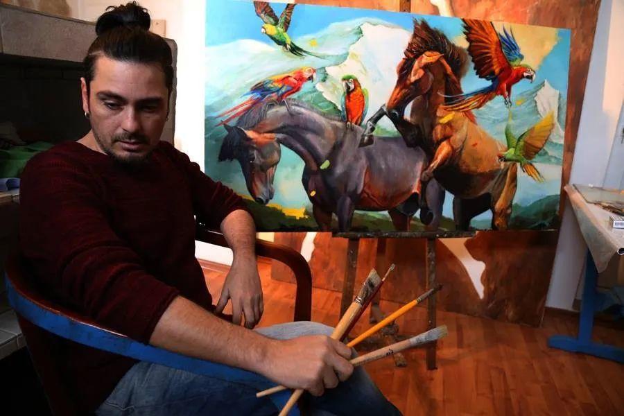 超现实主义,保加利亚艺术家米罗斯拉夫·约托夫插图