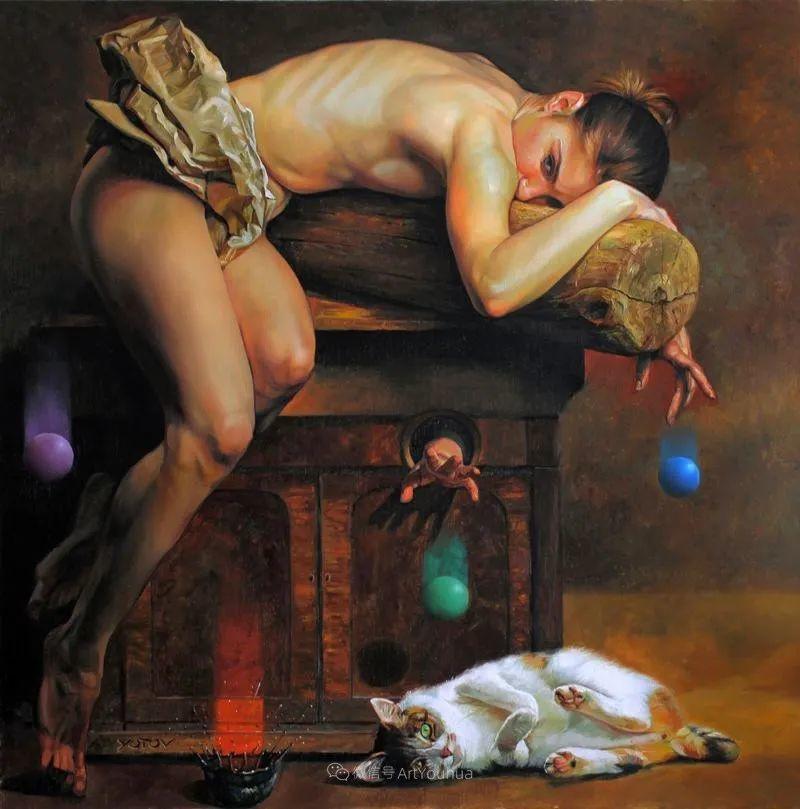 超现实主义,保加利亚艺术家米罗斯拉夫·约托夫插图5