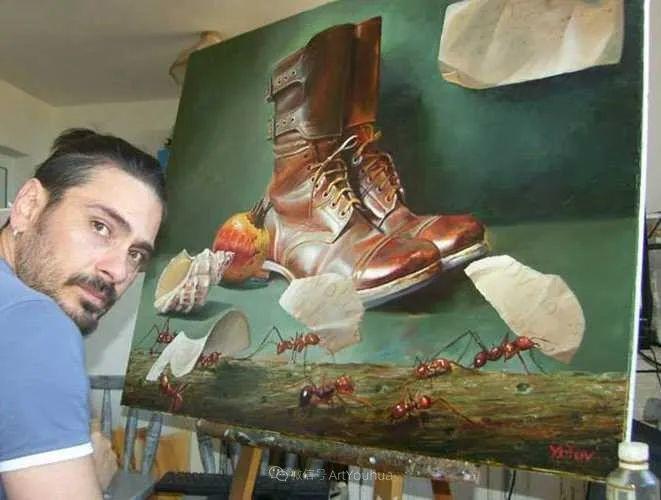 超现实主义,保加利亚艺术家米罗斯拉夫·约托夫插图8