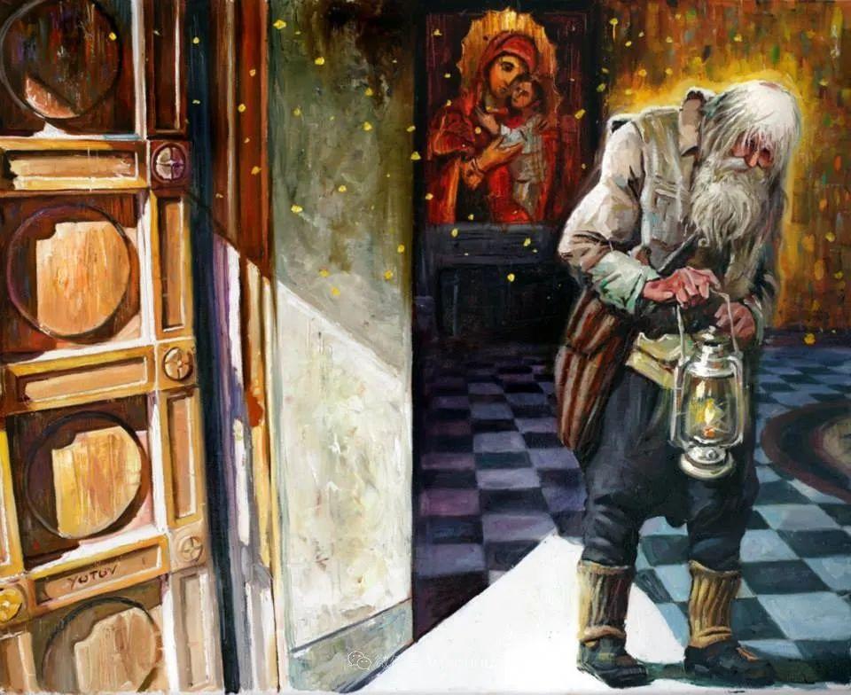 超现实主义,保加利亚艺术家米罗斯拉夫·约托夫插图20