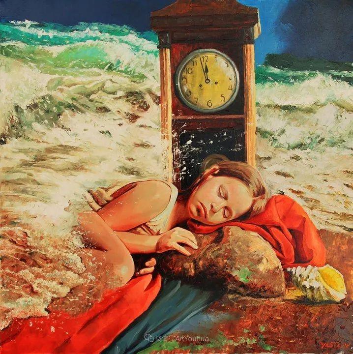 超现实主义,保加利亚艺术家米罗斯拉夫·约托夫插图22