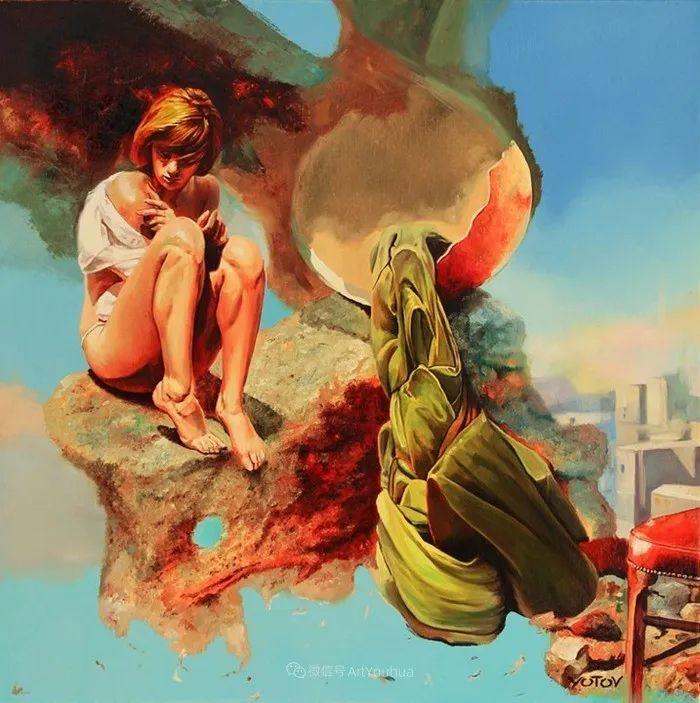 超现实主义,保加利亚艺术家米罗斯拉夫·约托夫插图25