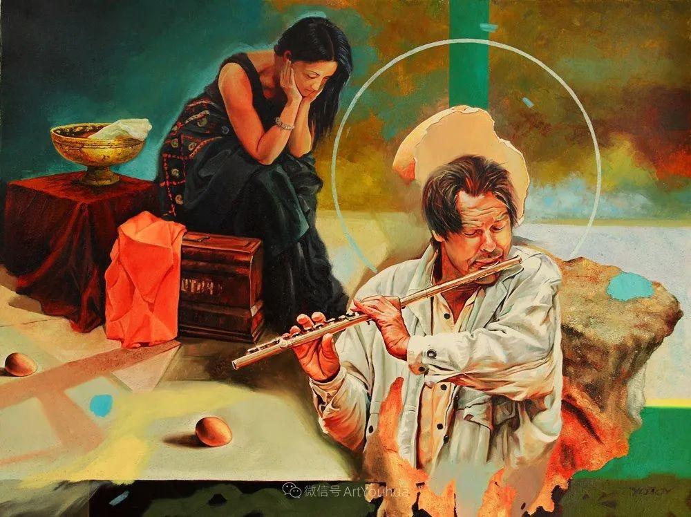 超现实主义,保加利亚艺术家米罗斯拉夫·约托夫插图30