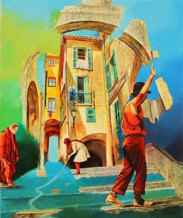 超现实主义,保加利亚艺术家米罗斯拉夫·约托夫插图34