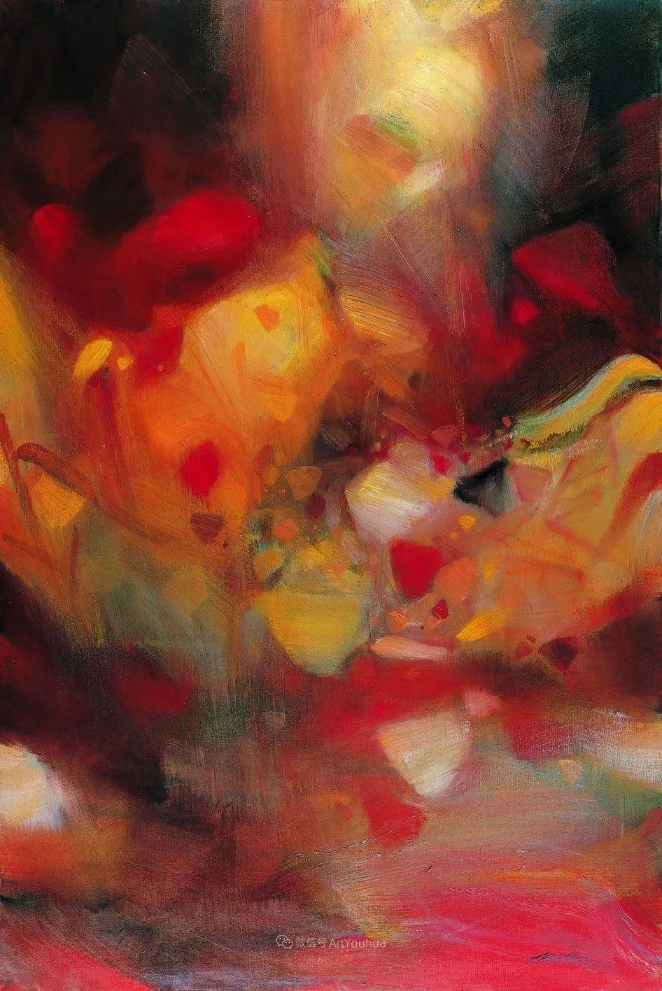 以色彩写诗,具象转抽象,朱德群作品欣赏 (高清)插图23
