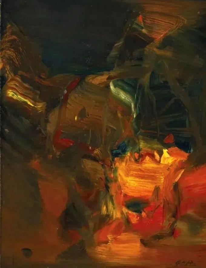 以色彩写诗,具象转抽象,朱德群作品欣赏 (高清)插图59