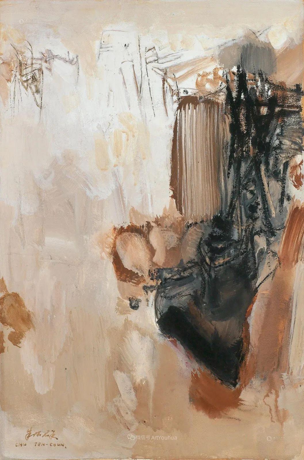以色彩写诗,具象转抽象,朱德群作品欣赏 (高清)插图73