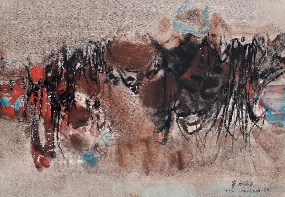 以色彩写诗,具象转抽象,朱德群作品欣赏 (高清)插图91