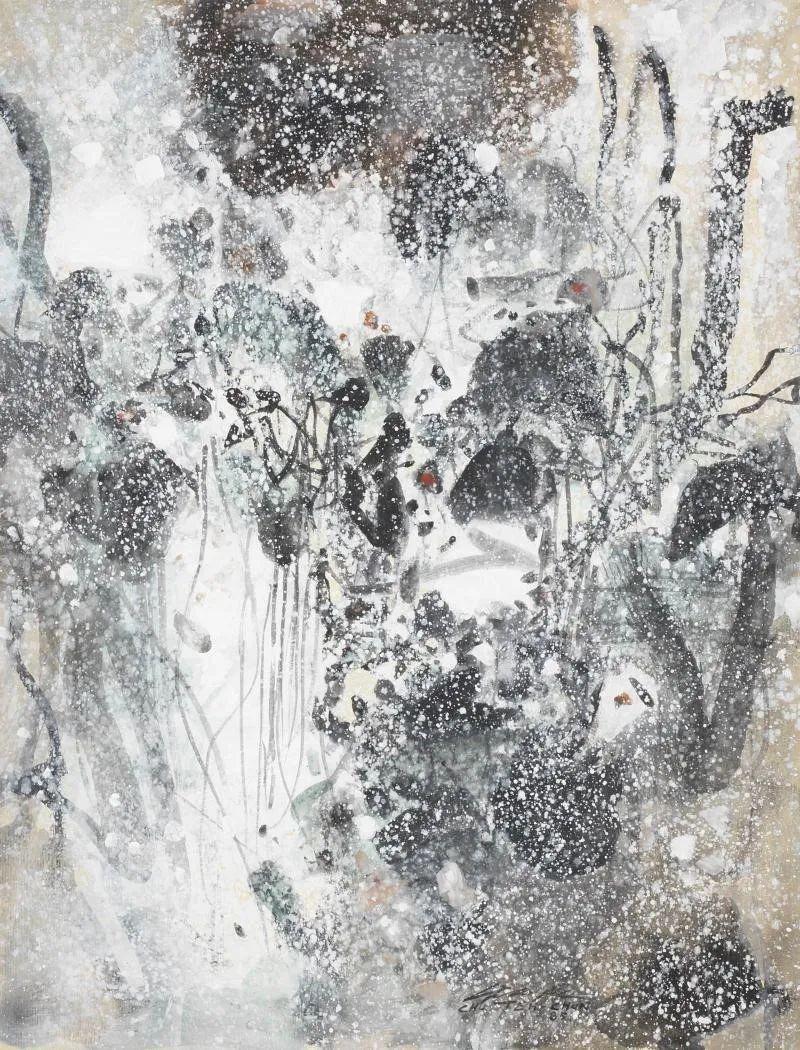 以色彩写诗,具象转抽象,朱德群作品欣赏 (高清)插图103