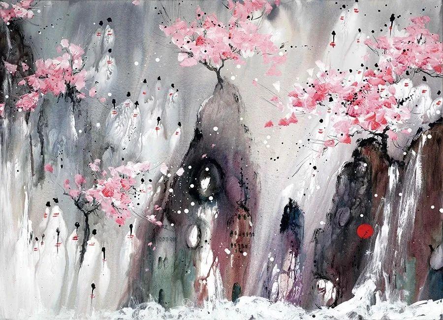 唯美印象,充满自由活力,加拿大画家Danielle akiyama插图19