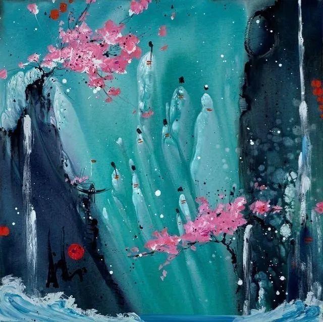 唯美印象,充满自由活力,加拿大画家Danielle akiyama插图21