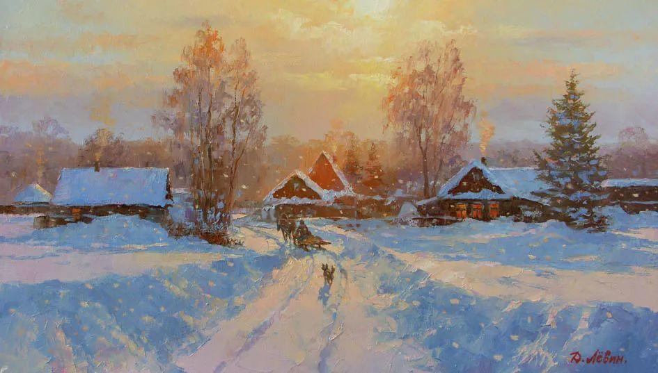 画面充满了阳光感,俄罗斯风景画家Dmitry Levin插图3