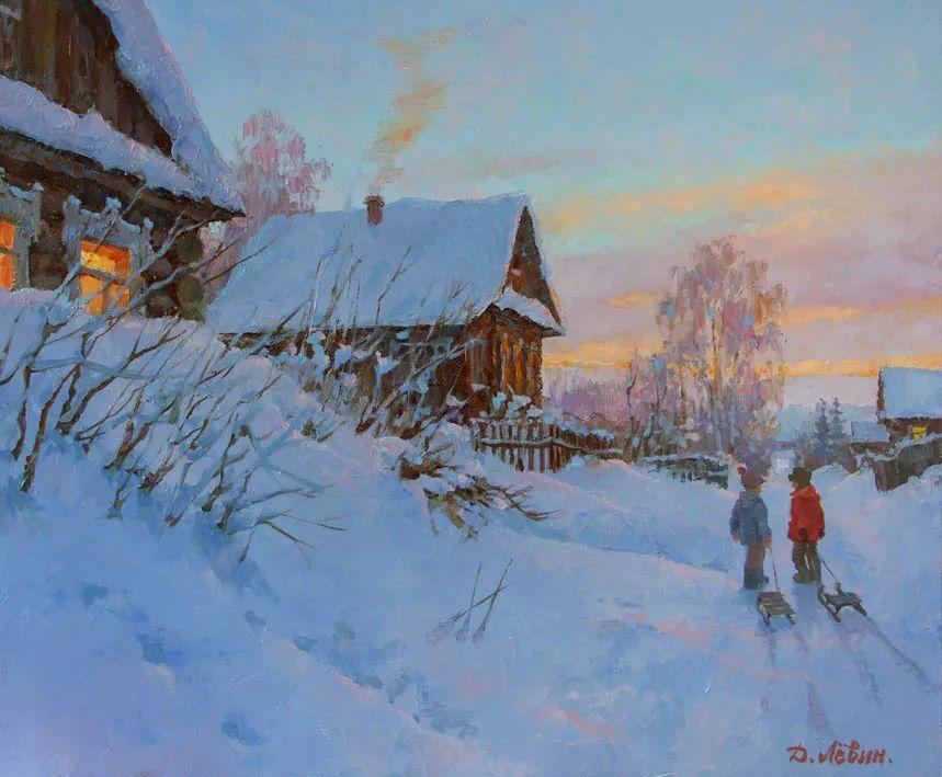 画面充满了阳光感,俄罗斯风景画家Dmitry Levin插图5
