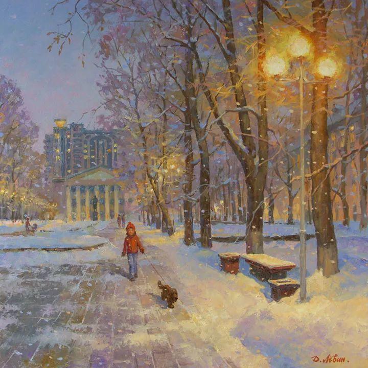 画面充满了阳光感,俄罗斯风景画家Dmitry Levin插图7