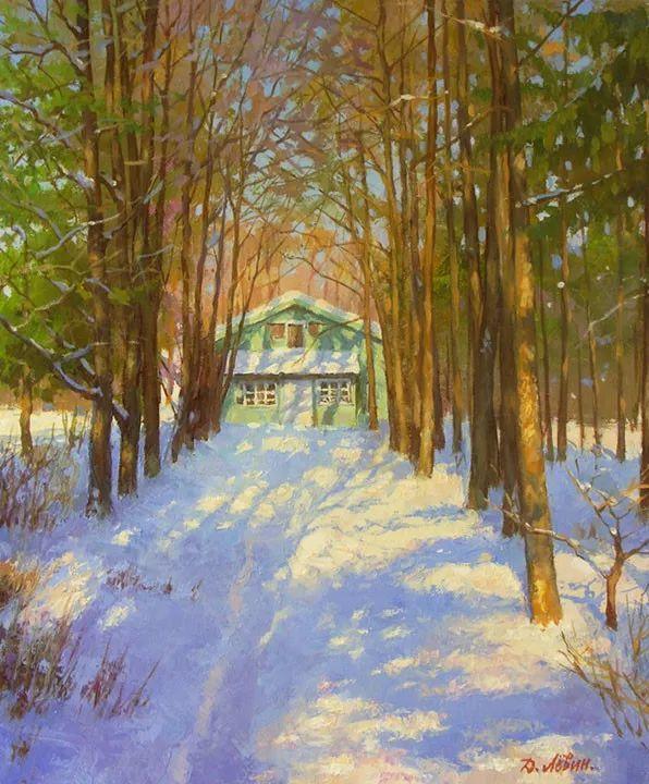 画面充满了阳光感,俄罗斯风景画家Dmitry Levin插图15