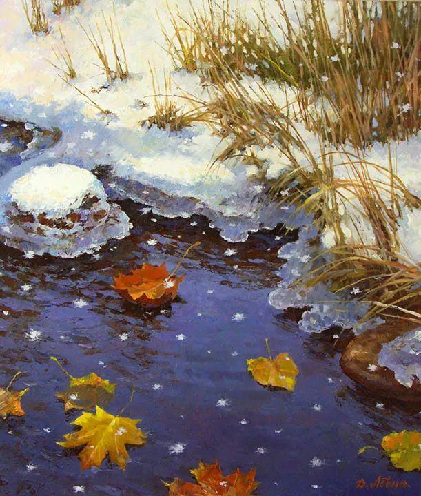 画面充满了阳光感,俄罗斯风景画家Dmitry Levin插图17