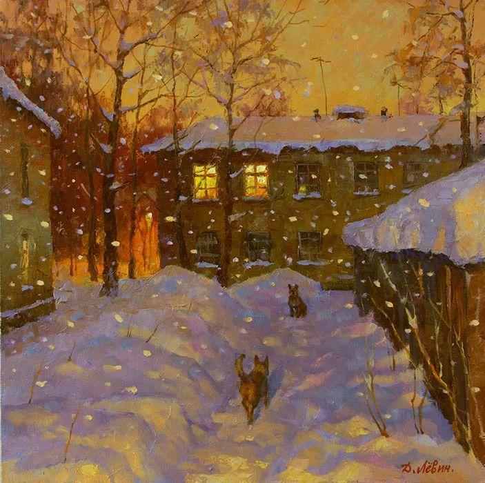 画面充满了阳光感,俄罗斯风景画家Dmitry Levin插图19