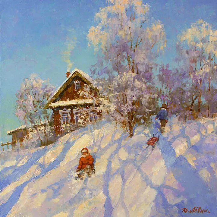 画面充满了阳光感,俄罗斯风景画家Dmitry Levin插图21