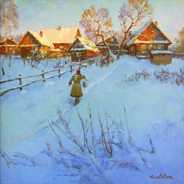 画面充满了阳光感,俄罗斯风景画家Dmitry Levin插图23