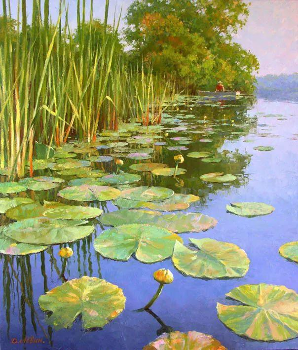 画面充满了阳光感,俄罗斯风景画家Dmitry Levin插图27