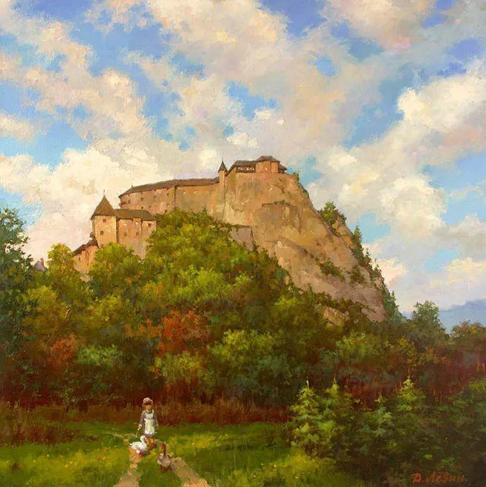 画面充满了阳光感,俄罗斯风景画家Dmitry Levin插图29