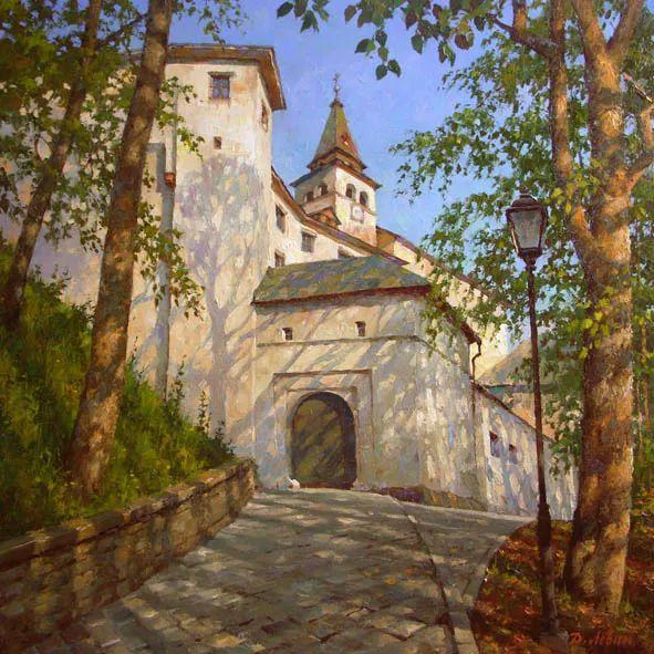 画面充满了阳光感,俄罗斯风景画家Dmitry Levin插图31