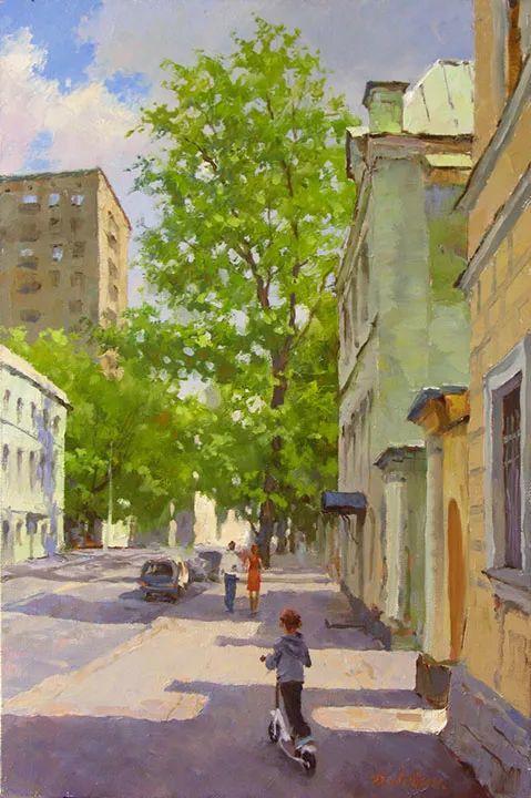 画面充满了阳光感,俄罗斯风景画家Dmitry Levin插图33