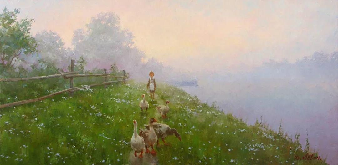画面充满了阳光感,俄罗斯风景画家Dmitry Levin插图37