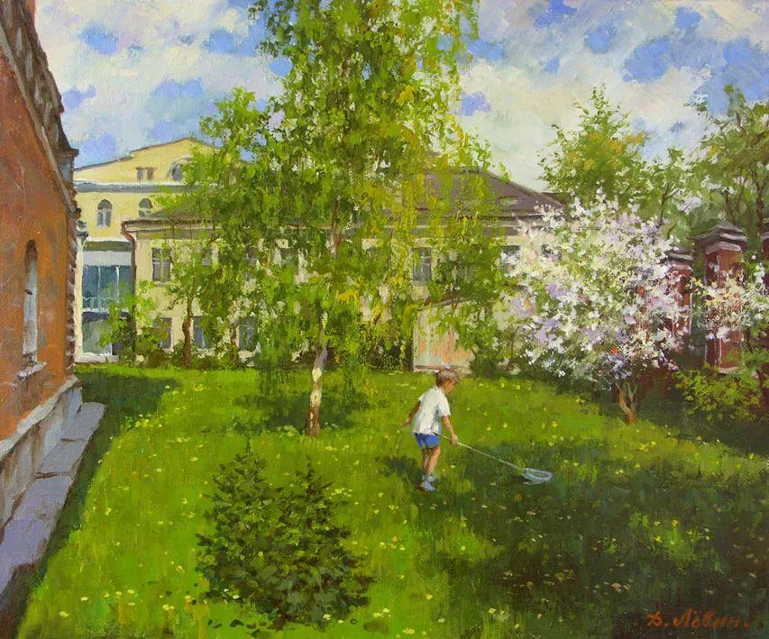 画面充满了阳光感,俄罗斯风景画家Dmitry Levin插图39