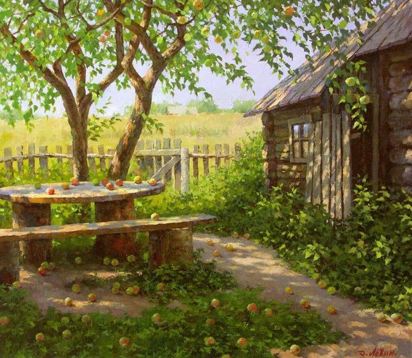 画面充满了阳光感,俄罗斯风景画家Dmitry Levin插图43