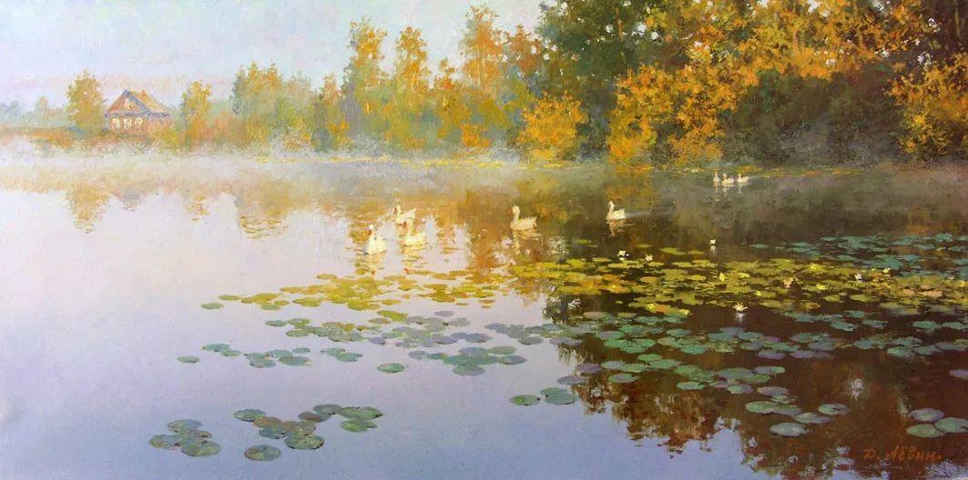 画面充满了阳光感,俄罗斯风景画家Dmitry Levin插图45