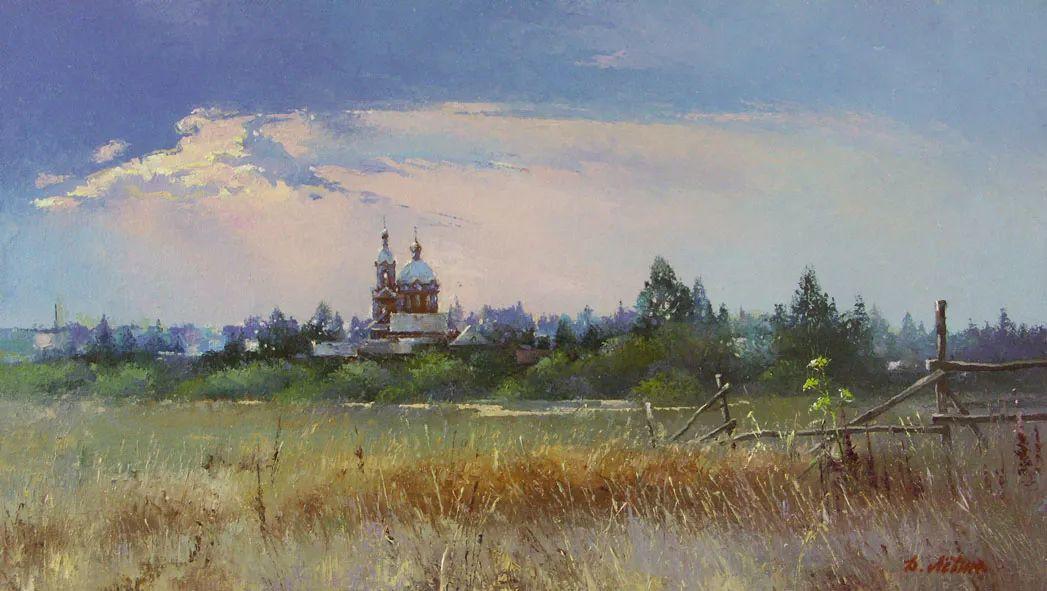 画面充满了阳光感,俄罗斯风景画家Dmitry Levin插图47