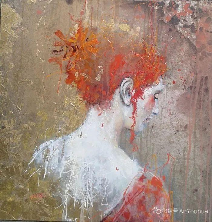 多彩肖像,法国画家Ismael Costa插图2