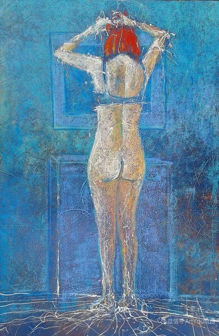 多彩肖像,法国画家Ismael Costa插图7