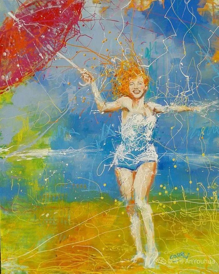 多彩肖像,法国画家Ismael Costa插图9
