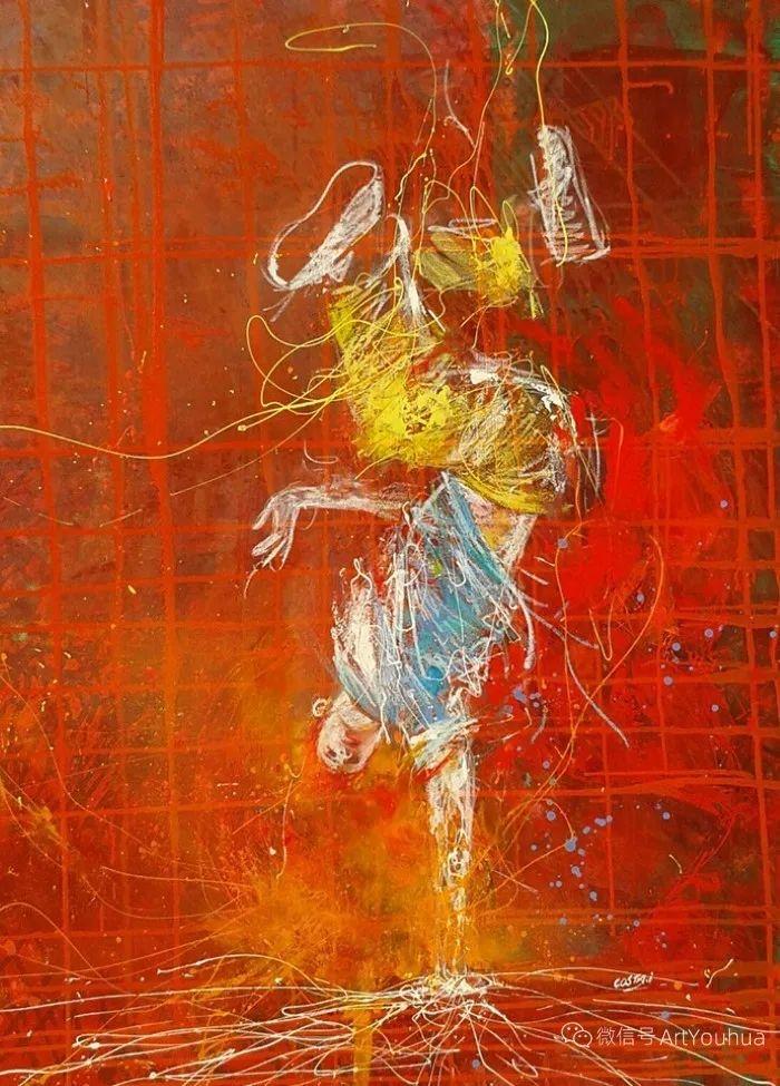 多彩肖像,法国画家Ismael Costa插图18