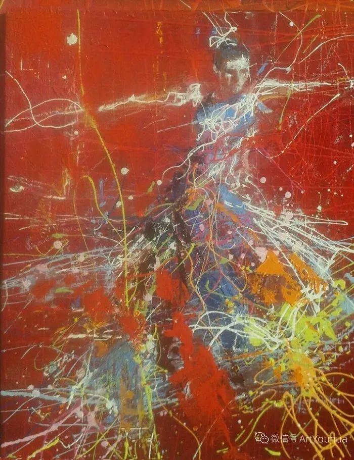 多彩肖像,法国画家Ismael Costa插图20