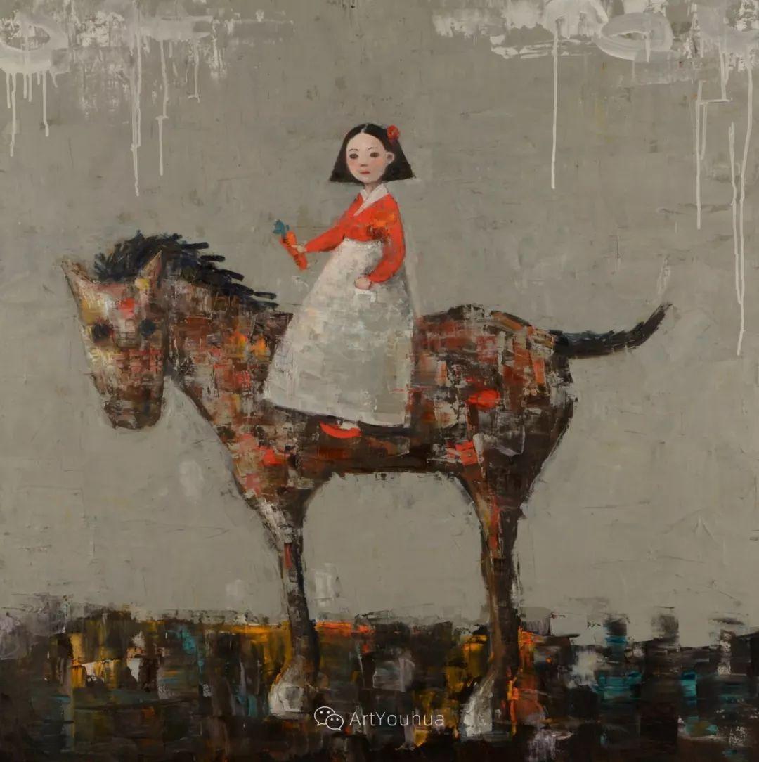 俏皮的具象,热情的色彩,美籍韩裔艺术家Rimi Yang插图3