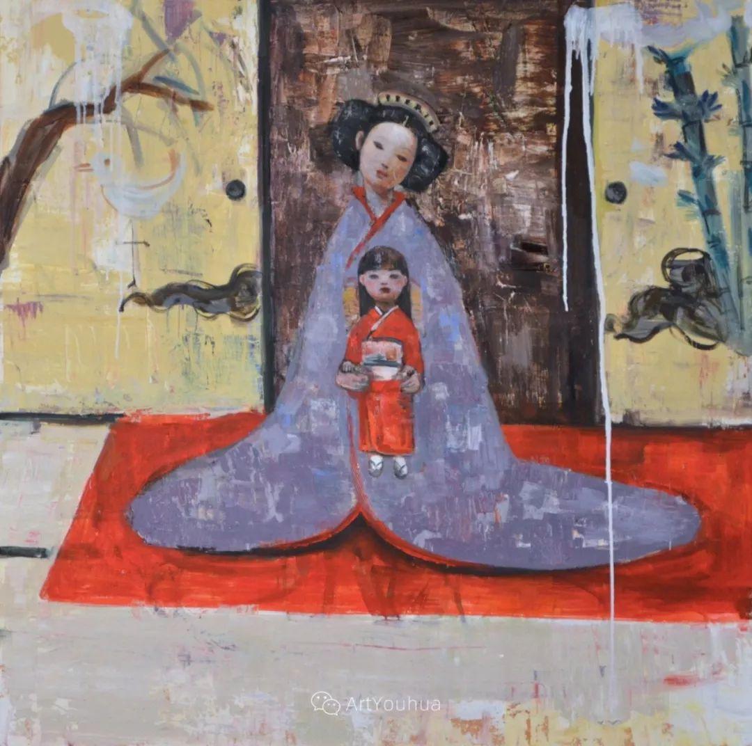 俏皮的具象,热情的色彩,美籍韩裔艺术家Rimi Yang插图27