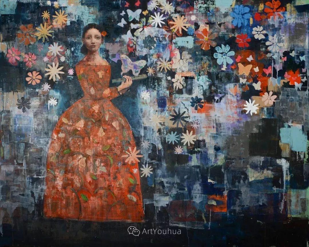 俏皮的具象,热情的色彩,美籍韩裔艺术家Rimi Yang插图57