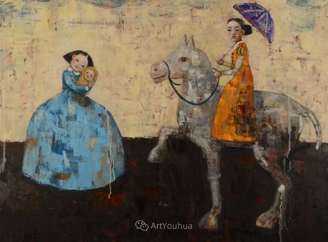俏皮的具象,热情的色彩,美籍韩裔艺术家Rimi Yang插图73