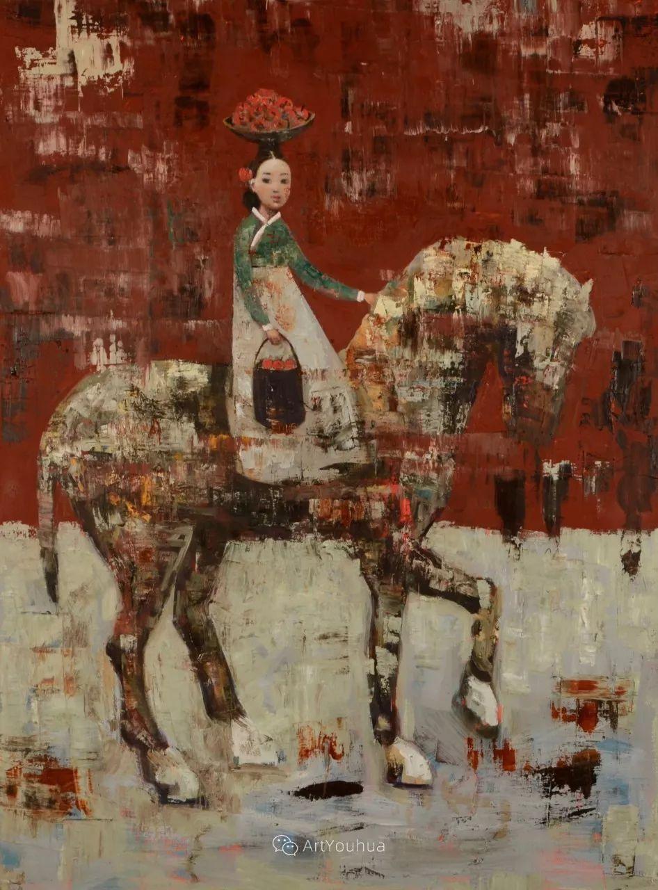 俏皮的具象,热情的色彩,美籍韩裔艺术家Rimi Yang插图75
