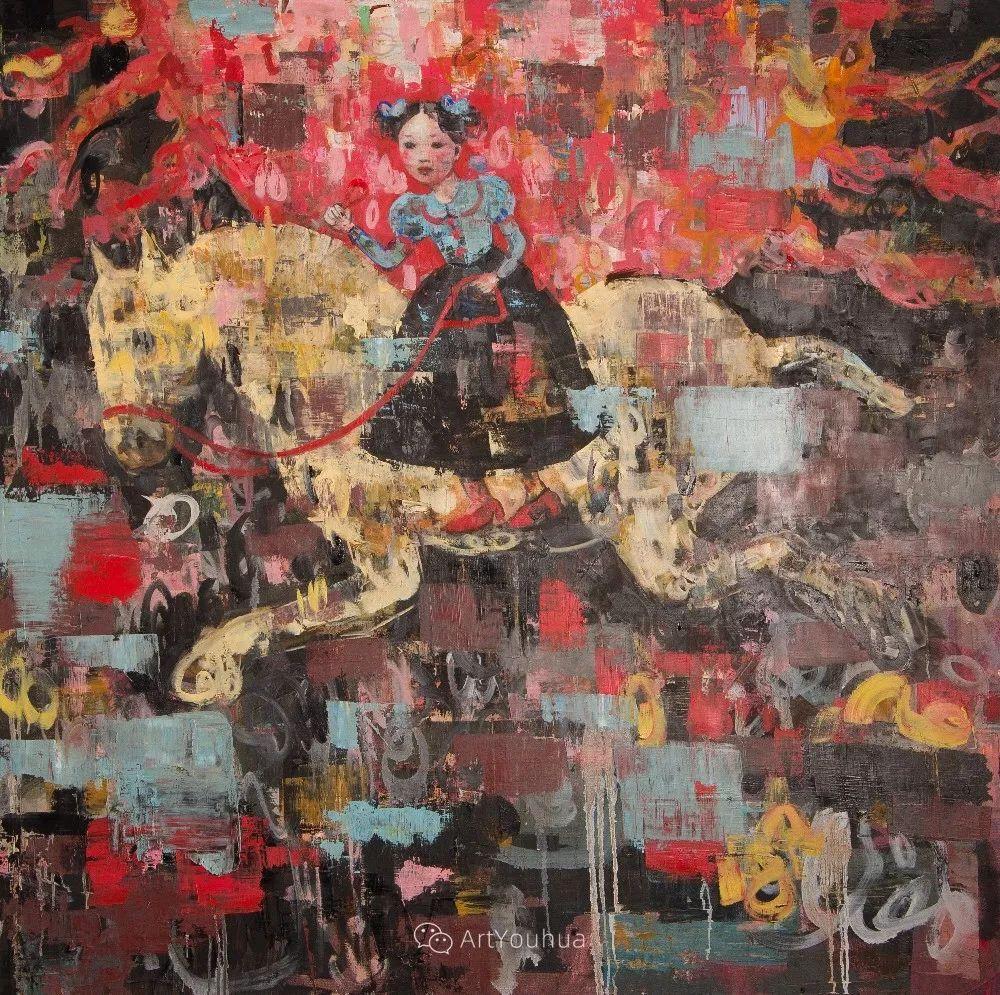 俏皮的具象,热情的色彩,美籍韩裔艺术家Rimi Yang插图95