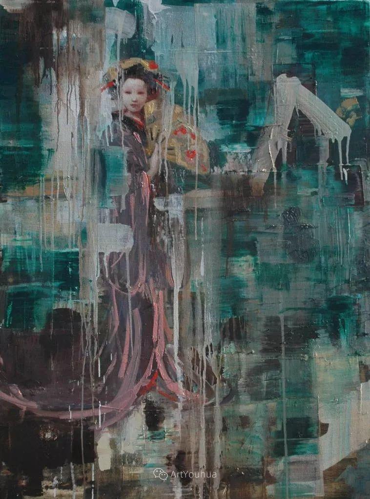 俏皮的具象,热情的色彩,美籍韩裔艺术家Rimi Yang插图131