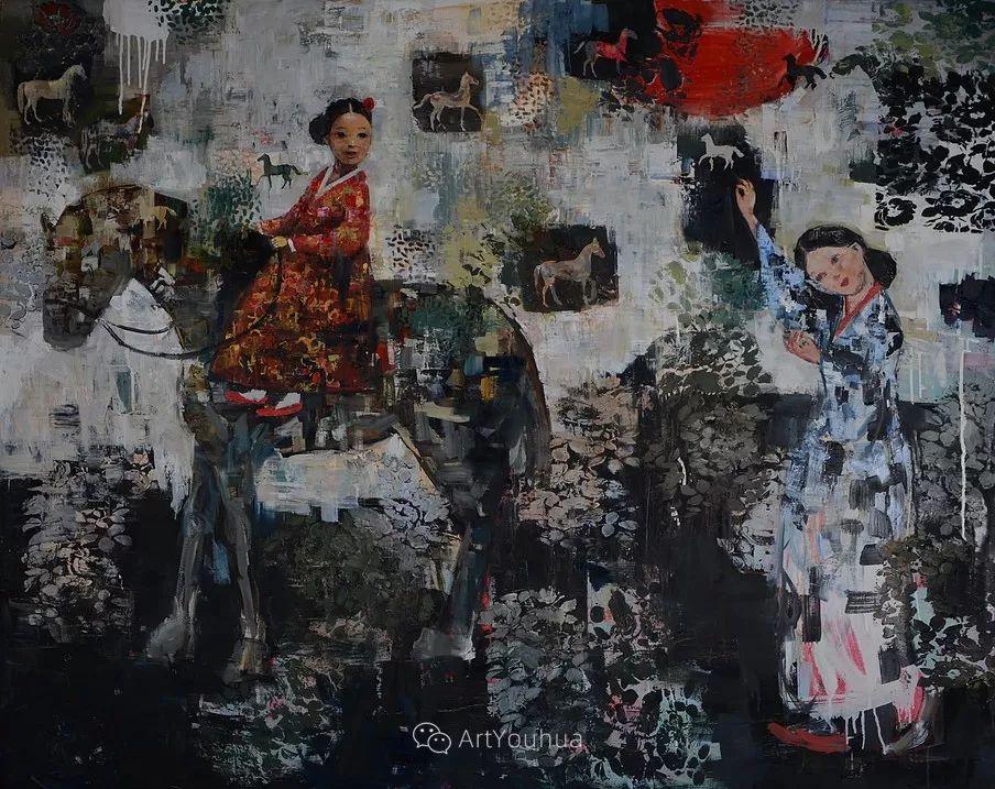 俏皮的具象,热情的色彩,美籍韩裔艺术家Rimi Yang插图139