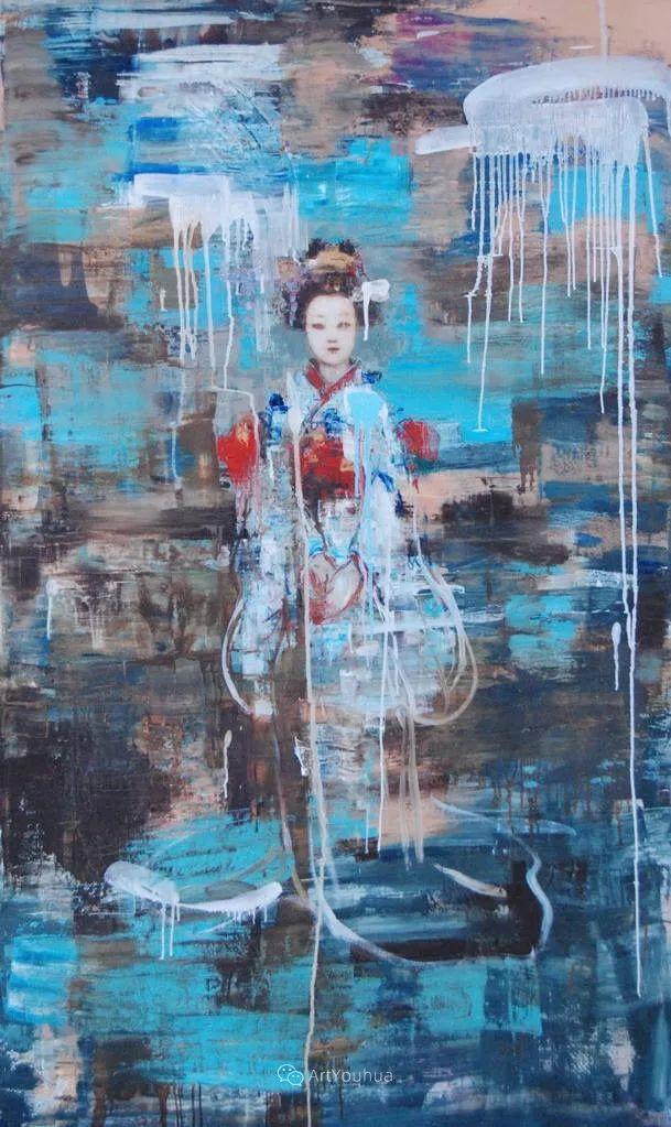 俏皮的具象,热情的色彩,美籍韩裔艺术家Rimi Yang插图141